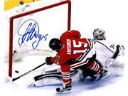 Schwartz Sports Memorabilia ANI08P400 8 x 10 in. Artem Anisimov Signed Chicago Blackhawks Scoring Goal Action Photo 9SIA00Y6G96372