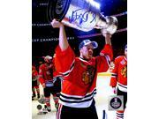 Schwartz Sports Memorabilia RAA08P403 8 x 10 in. Antti Raanta Signed Chicago Blackhawks 2015 Stanley Cup Trophy Photo 9SIA00Y6GA8162