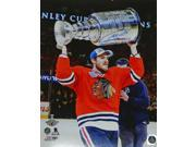Andrew Shaw Signed Chicago Blackhawks 2015 Stanley Cup Champion Holding Trophy 16x20 Photo 9SIA1Z05XY6662