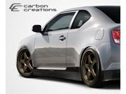 Carbon Creations Carbon Fiber  Scion tC  X-5 Side Skirts Rocker Panels - 2 Piece (Clearance) > 2011-2014