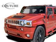 Couture Polyurethane  Hummer H2  Vortex Wide Body Front Bumper - 1 Piece > 2003-2009