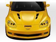 Duraflex FRP  Chevrolet Corvette C6  GT Concept Hood - 1 Piece > 2005-2013