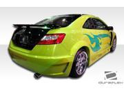 Duraflex FRP  Honda Civic 2DR  Circuit Wide Body Rear Fender Flares - 2 Piece (Clearance) > 2006-2011
