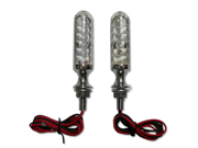 Chrome Billet LED Motorcycle Turn Signals Pair for Yamaha YZF 600,YZF 750