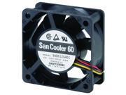 SANYO DENKI - SANACE FANS 9A0612S402 AXIAL FAN, 60MM, 12VDC, 170mA