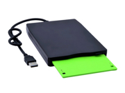 "New Portable Slim 3.5"" USB 1.44MB External Floppy Drive Disk for PC Laptop Desktop Windows 2000/ XP/ Vista/ Win 7 Data Storage"