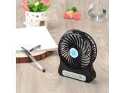 VicTsing Portable Mini USB Fan Runs On 18650 Lithium Rechargeable Battery or USB Cooler Cooling Fan for Hot Summer Outdoor Travelling