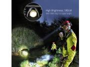 VTin Adjustable Ultra-Bright 180 Lumens CREE XPG R3 LED Chip Waterproof Zoomable Headlamp Headlight Head Torch Ideal for Outdoor Activities