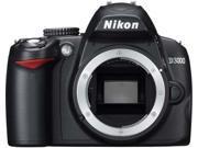 Nikon D3000 10.2MP Digital SLR Camera Body Only [CD-ROM