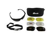 Birdz HawkKit2 Interchangeable Glasses with Clear, Smoke, Amber and Yellow Lenses