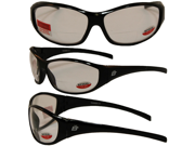 Birdz Sparrow Riding Glasses Gloss Black Frame with 1.0 Bifocal Clear Lenses