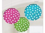Dots Round Paper Lanterns (3)