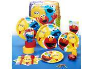 Sesame Street Party - Standard Party Pack - Paper, Plastic, Wax, Foil