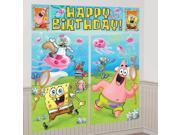 Spongebob Scene Setter Decoration Set - Blue/green