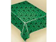 Congrats Grad Graduation Green Plastic Tablecover - Plastic 9SIA0BS2X80961