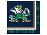 Notre Dame Fighting Irish - Lunch Napkins - paper