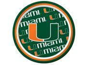 Miami Hurricanes - Dessert Plates - paper