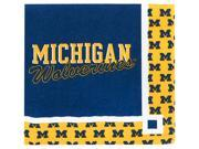 Michigan Wolverines - Beverage Napkins - paper 9SIA0192081561