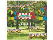 Giant Outdoor Carnival Decorating Kit Plastic