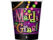 Mardi Gras Beads 9 Oz. Paper Cups - Paper 9SIA2Y222F9638
