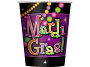 Mardi Gras Beads 9 Oz. Paper Cups - Paper 9SIA2Y222F9638