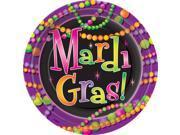 Mardi Gras Beads Dinner Plates - Paper 9SIA2Y222F9652