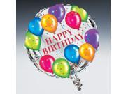 Birthday Balloons Foil Balloon - foil 9SIA0192076592