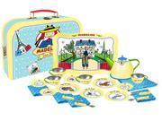Madeline Tin Tea Set - Yellow