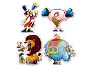 Circus Cutouts - Multi-colored