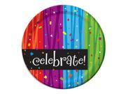 Celebrations Dinner Plates - Party Supplies