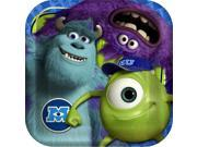 """Monsters Inc 9.5"""""""" Dinner Plates (8 Count) - Party Supplies"""" 9SIABHU58N7263"""