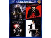 4 Film Favorites: Sci-Fi Action Blu-ray I AM LEGEND, V FOR VENDETTA, BLADE... 9SIA17P3ES6984