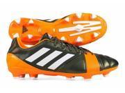 Adidas Nitrocharge 2.0 TRX FG Men's Soccer Cleats in Green/Orange - 7