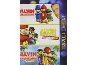Alvin and The Chipmunks Triple Feature DVD: Squeakquel, ChipWrecked... 9SIA20S5MC9728