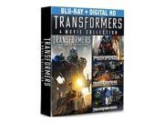 Transformers Complete 4-Movie Collection Blu-Ray Box Set Shai LaBeouf 9SIA20S6YD3015