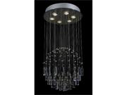 "Modern Chandelier ""Rain Drop"" Crystal Chandeliers Lighting! H32"" X W18"