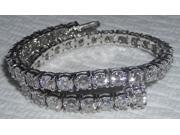 14 carat DIAMOND TENNIS BRACELET sparkling VS diamonds