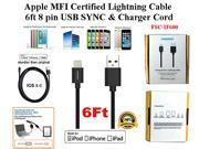 2 pack 6ft Apple MFI black lighting cables , 100% Apple certified IOS 8 compatible.