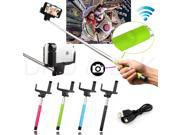 2 in 1 Handheld Wireless Bluetooth Selfie Monopod Stick tripod with Remote Button for iPhone 4 5 6 IOS samsung S5 Android