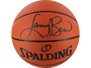 Larry Bird I/O Basketball Signed in Black