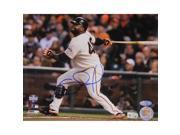 Pablo Sandoval Signed 2012 8x10 World Series Photo Facing Left w/ MVP Insc 9SIA2211285157