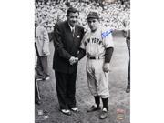 Yogi Berra with Babe Ruth 11X14