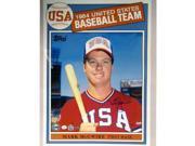 Mark McGwire 1984 Topps USA Baseball Card 16x20