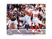 Victor Cruz Signed Super Bowl XLVI Touchdown Horizontal 8x10 Photo