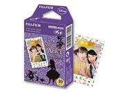 Fujifilm Polaroid Instax Mini Photographic Instant Photo Camera Film - Alice in Wonderland 10 Sheet