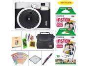 Fujifilm instax mini 90 Instant Film Camera (Neo Classic) + Fujifilm instax Film 20 Sheets + Extra Accessories Kit