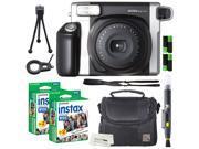 Fujifilm Instax Wide 300 Instant Film Camera + instax Wide Instant Film, 40 Exposures + Extra Accessories