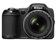 Nikon Coolpix 018208264025 L820 16.0 Megapixels Digital Camera - 30x Optical Zoom/4x Digital Zoom - 3.0-inch LCD Display - Black