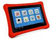 NABI NABI2-NV7A Tablet PC with Camera - nVIDIA Tegra 3 Quad Core - 8 GB Storage Memory - 1 GB RAM - 7-inch Display - Android 4.0 Ice Cream Sandwich Operating System - Red