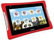 Nabi DreamTab DMTAB-IN08A 8-inch Touchscreen Tablet PC - Intel Atom Z3745 1.33 GHz Quad-Core Processor - 2 GB RAM - 16 GB Storage - Android 4.4 KitKat - Red, Black
